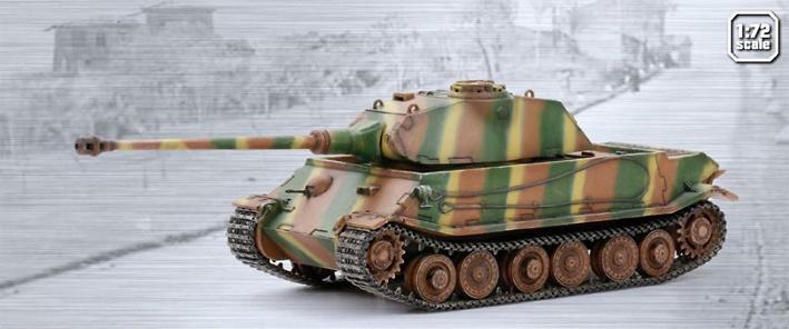 VK.45.02(P)V, Frente del Este, 1945, 1:72, Dragon Armor