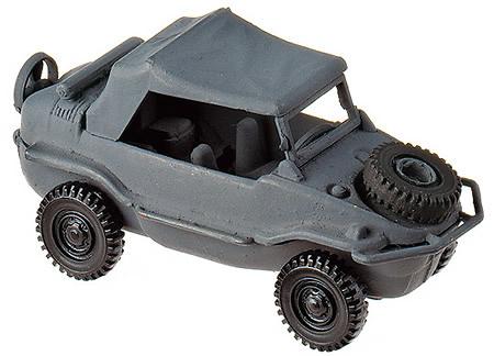 VW-SCHWIMMWAGEN GRAU, 1:87, Minitanks