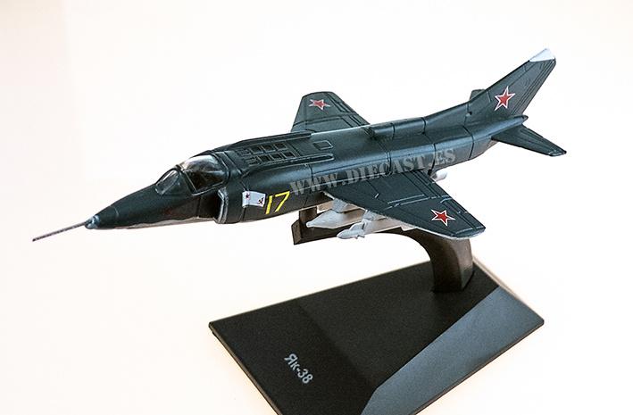 Yakovlev Yak-38, 1973-1988, 1:120, DeAgostini