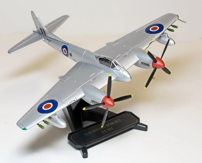 de Havilland DH103, Sea Hornet F20 TT193, Royal Navy, 1:72, Oxford