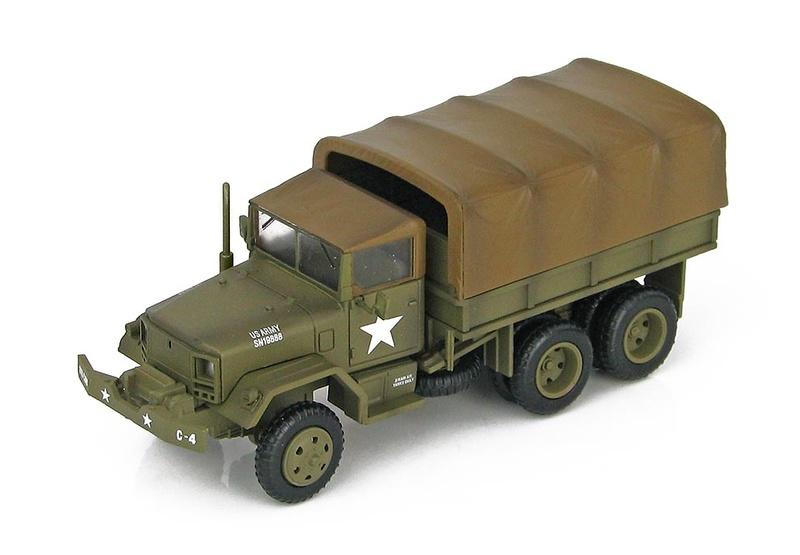 Blindati De Agostini M35 A1 US Army 1//72 Vietnam 1968 Diecast
