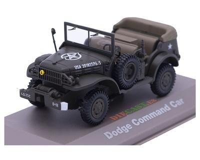 .Dodge Truck WC, Command Car, USA, 1942-45, 1:43, Atlas