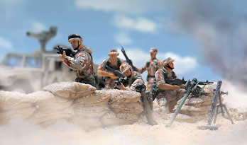 101st Airbourne Division, U.S., Kuwait 1991, 1:32, Forces of Valor