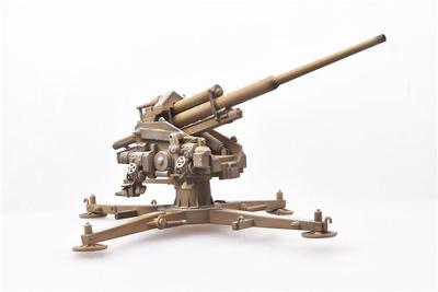 128mm Flak40 con Kreuzlafette, 1944, Alemania, 1944, 1:72, Modelcollect
