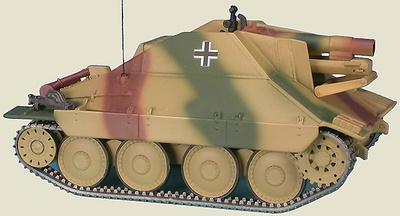 15 cm schweres Infanteriegeschütz 33/2(Sf) auf Jagdpanzer 38(t) Hetzer, Campaña de Alemania, Marzo, 1945, 1:48, Gasoline