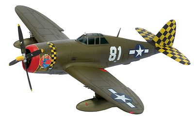 "1/72 P-47D ""Dallas Blonde"", 319th FS 325th FG, ""White 81"" ~ Lt. Don Kearns, 1:72, Dragon Wings"