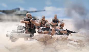 24th Infantry Division, U.S., Kuwait 1991, 1:32, Forces of Valor