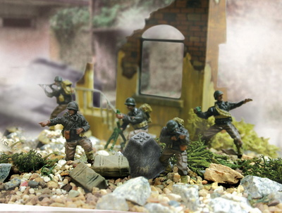 29th Infantry Division, U.S., Normandía 1944, 1:72, Forces of Valor