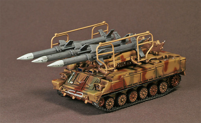 "2K12 Kub Soviet SAM System ""Gainful"" Libyan Army, Libya, 1987, 1:72, War Master"