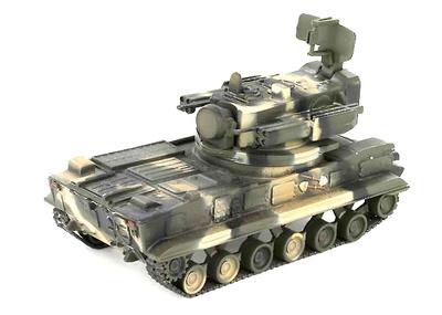 2S6 'Tunguska', Ejército Ruso, Moscú, 2008, 1:72, War Master