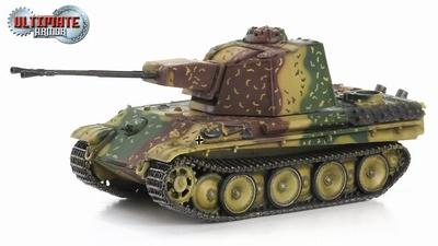 5.5cm Zwilling Flakpanzer, Frente del Oeste, 1945, 1:72, Ultimate Armor
