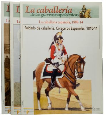 60 Fascículos Caballería de las Guerras Napoleónicas, Osprey, Ediciones Del Prado