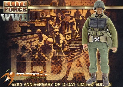 "63rd Anniversary of D-Day limited Edition ""Vince"", 1:6, Elite Force"