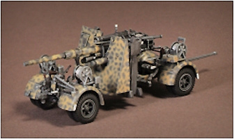 88 mm Flak 37, Frente Ruso, 1943, 1:72, War Master