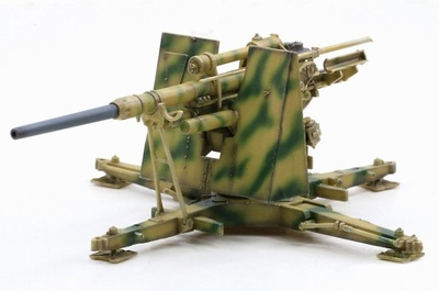 88mm FlaK 36, 10.Pz.Div., Tunisia, 1943, 1:72, Dragon Armor