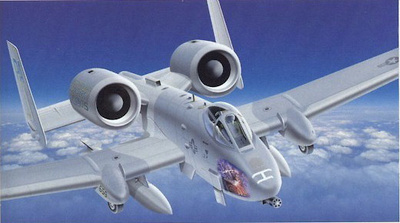 "A-10 Warthog U.S.A.F., 111 FW, 103 FS, ""Black Hogs"", 1:48, Franklin Mint"