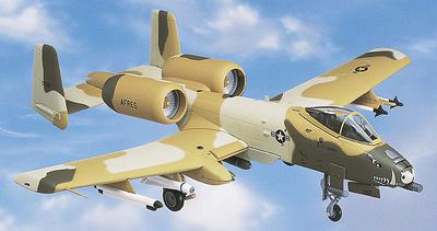 "A-10 Warthog U.S.A.F. 917 TFW, ""Peanut Camouflage"", 1:48, Franklin Mint"