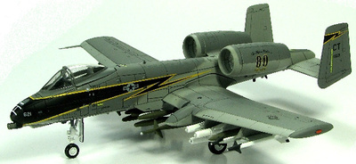 "A-10A ""Black Lightning"", 118th F/S/103rd FW, 1:72, Hobby Master"