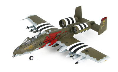"A-10C 81-0994 ""100 Anniversary of the 107th FS"" 107th FS/127th, Red Devils, Wing, Michigan, Agosto, 2017, 1:72, Hobby Master"