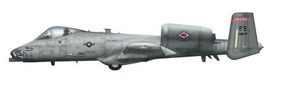 A-10C Thunderbolt II 80-0188, 188FW, Arkansas ANG, 2011, 1:72, Hobby Master