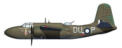 """A-20G Havoc A28-60, DU-P """"Hilda Shane"""" 22 Sqn. RAAF, Nueva Guinea, 1944, 1:72, Hobby Master"""