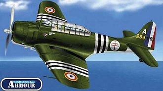 A-24B Banshee, Armee de l'Air, 1:48, Franklin Mint