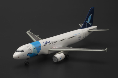 "A320-200 SATA Internacional ""Diáspora"" F-WWDC, MSN 3891, 1:400, Dragon Wings"