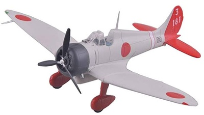 A5M2 12th Kokutai 3-181, 1:72, Easy Model