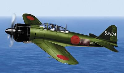 "A6M2 Model 21 ""Zero"", Imperial Japanese Navy, 1:48, Franklin Mint"