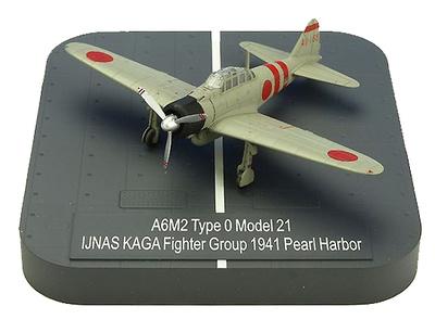 """A6M2 """"Zero"""" Model 21 Ijnas Akagi Fighter Group AI-168 , Pearl Harbor, 1941, 1:144, X-Plus"""