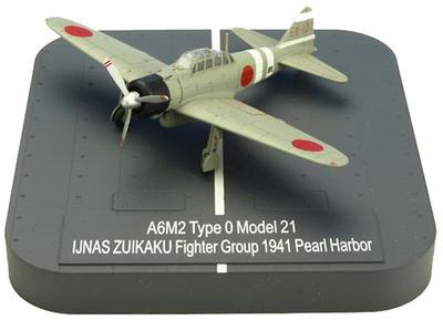 "A6M2 ""Zero"" Model 21 Ijnas Zuikako Fighter Group EII-137 , Pearl Harbor, 1941, 1:144, X-Plus"