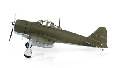 "A6M2b Zero Fighter ""Capturado"" P-5016 (c/n 3372, V-172), Fuerza Aérea China, 1942-1943, 1:48, Hobby Master"