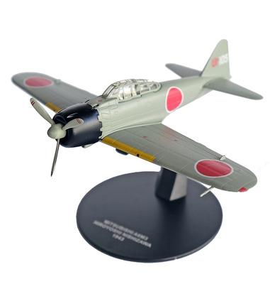 A6M3 Zero, piloto Hiroyoshi Nishizawa, 1943, 1:72, Atlas