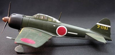 A6M3 Zero Fighter Tsukuba Flying Group, 1:72, Witty Wings