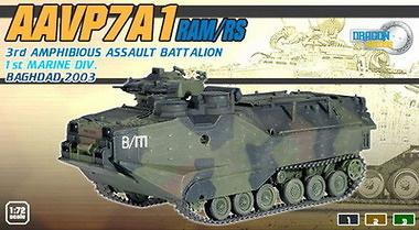 AAVP7A1 Anfibio, Bagdag, 2003, 1:72, Dragon Armor