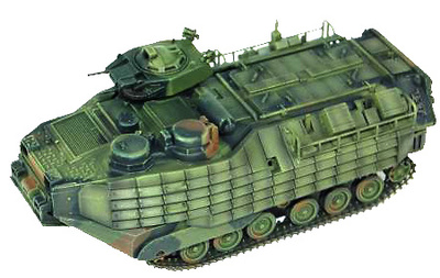 AAVP7A1 RAM/RS w/EAAK, 2nd Assault amphibian Battalion, USMC, Iraq 2005, 1:72, Dragon Armor
