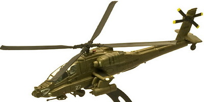 AH-64 Apache, 1:100, Italeri
