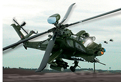 AH-64D Apache Longbow US Army, 1:72, Forces of Valor