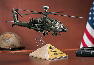 AH64D Apache Longbow, Desert Storm, 1:48, Franklin Mint
