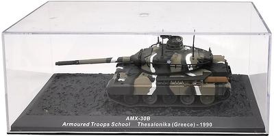 AMX-30B Armoured Troop School, Thesalonika, Grecia, 1990, 1:72, Altaya