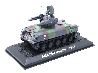 AMX-30R Roland, Lanzacohetes SAM, Francia, 1991, 1:72, Amercom