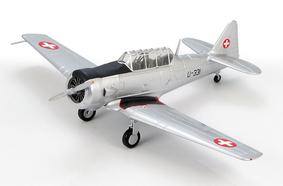 AT-16 Harvard U-331, Swiss Air Force, 1960s, 1:72, Hobby Master