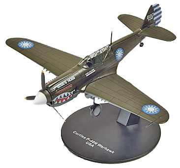 AVION CURTISS P-40N WARHAWK, 1:72