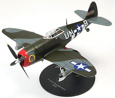 AVION REPUBLIC P-47D THUNDERBOLT, USA, 1:72