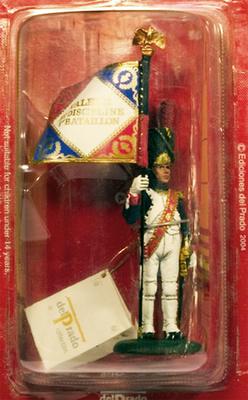 Abanderado, Guardia Imperial Francesa, 1811, 1:30, Del Prado