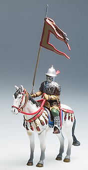 Abanderado de Saladino, S.XII, Tercera Cruzada , 1:32, Altaya