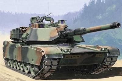 Abrams M1 A2, 1:35, Italeri