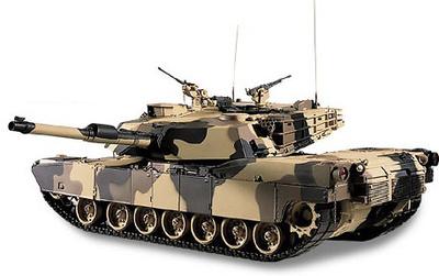 Abrams M1A1 Tank (Desert Camouflage), 1:24, Franklin Mint