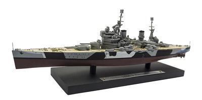 Acorazado HMS Anson, Royal Navy, 1940-1951, 1:1250, Atlas