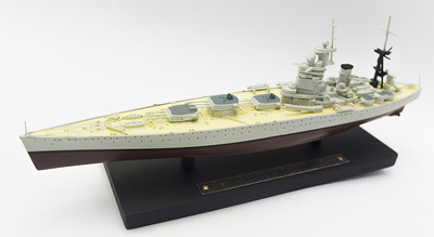 Acorazado HMS Nelson, Royal Navy, 1927-1947, 1:1250, Atlas